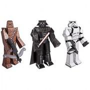 Star Wars Blueprint Paper Craft Kit - Chewbacca Darth Vader and Stormtrooper