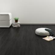 vidaXL Самозалепващи подови дъски, 4,46 м², 3 мм, PVC, дъб антрацит
