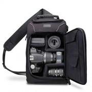 Accessory Power GRSLS15100BKEW Mochila Negro estuche para cámara fotográfica Funda (Mochila para tablet, Universal, Canon EOS 700D, 750D, 1200D/Nikon D3200, D3300, D5500/Sony, Pentax, Samsung, Fujifilm, Negro)