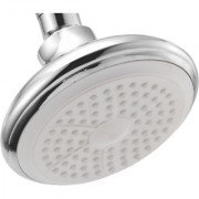 Touch Silver Bell 5 Inch Round Overhead Shower