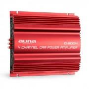 Auna C500.4 Amplificador de 4 canales Amplificador de coche 4x 65W RMS