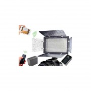Kit Lampara Yongnuo 300 LED Bicolor Bluetooth + Bateria + cargado
