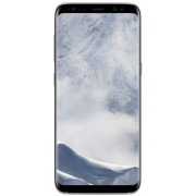 Samsung Galaxy S8 - 64GB - Zilver - Met Wowfixit Liquid Screen Protector + transparant siliconen hoesje + Energizer Qi Dual Charging Plate