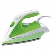 Fier de calcat BRAUN TexStyle 3 TS330C Ceramica 110g min 2000W alb verde