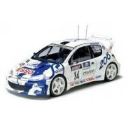 Tamiya Model samochodu Peugeot 206 WRC do sklejania - Tamiya 24221