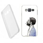 Husa Samsung Galaxy J5 J500 Silicon Gel Tpu Model Abstract Man V1