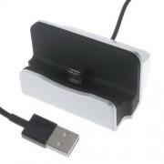 Asztali töltõ / dokkoló - adatátviteli állvány, USB 3.1 Type C, 1m-es kábellel - EZÜST