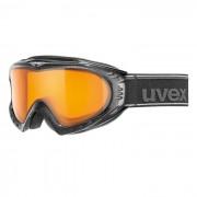 Ochelari Ski Snowboard Uvex F2 Black Metallic Goldlite