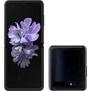 Samsung Galaxy Z Flip teléfono celular desbloqueado de fábrica Versión US SIM única 256 GB de almacenamiento Tecnología de vidrio plegable Batería de larga duración Espejo negro
