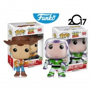 Woody El Vaquero Y Buzz Toy Story Funko Pop Disney Pixar ENVIO GRATIS INCLUYE BOLSA POP PARA REGALO