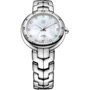 Tag Heuer Link Lady Automatic Diamond MoP Dial Steel Ladies Watch