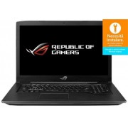 "Laptop Gaming ASUS ROG GL703GE-GC007 (Procesor Intel® Core™ i7-8750H (9M Cache, up to 4.10 GHz), 17.3""FHD, 8GB, 1TB HDD @7200RPM + 128 GB SSD, nVidia GeForce GTX 1050 Ti @4GB, Wireless AC, Tastatura iluminata, Negru)"