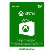 Microsoft Tarjeta Xbox Live 15€ - Código digital