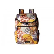 Vera Bradley Lighten Up Drawstring Backpack Painted Feathers