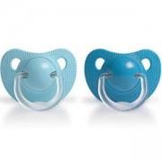 Бебешка силиконова залъгалка - Evolution - момче, Sauvinex, налични 2 цвята, 254022
