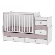 Lorelli Bertoni Drveni krevetac Maxi Plus White-Cappuccino