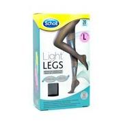 Light legs collant de compressão 20den preto tamanho l - Dr Scholl