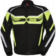 IXS X-Sport RS-400-ST Chaqueta de moto textil Negro Amarillo L