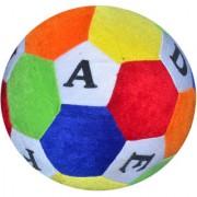 Stuffed Soft Toy Plush Ball (Medium) - 14 cm(Multicolor)