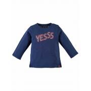 Babyface! Jongens Shirt Lange Mouw - Maat 86 - Blauw - Katoen/elasthan