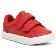 Обувки CLARKS - City OasisLo T 261432546 Red Leather