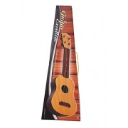 DD 4-String Acoustic Guitar Learning Kids Toy, Brown 18""