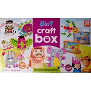 Worldly Heaven Ekta No Adhesive Required DIY 6 In 1 Craft Box for Learning (5+)