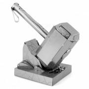 Rompecabezas 3D Thor Hammer Bloque juguete educativo para los ninos - Plata