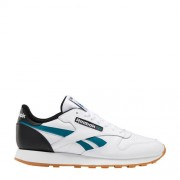 Reebok Classics Classic Leather sneakers wit/blauw/zwart