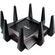 Router Gaming Wireless ASUS GT-AC5300, Gigabit, Tri-Band, 5300 Mbps, 8 Antene Externe (Negru)