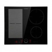 Klarstein Delicatessa 60 Hybrid Table de cuisson à induction encastrable 4 zones 7000W