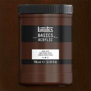 Liquitex Basics akrilfesték, 946 ml - 128, burnt umber