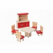 PlanToys Eetkamer voor je poppenhuis