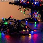 Guirlande de noël à piles multicouleur 192 LED