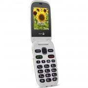 Doro 6030 GSM klaptelefoon - Antraciet/Wit .