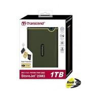 "Transcend Eksterni hard disk 1TB 2.5"" USB 3.0 StoreJet 25M3G - TS1TSJ25M3G"
