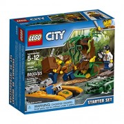 LEGO City Jungle Explorers Jungle Starter Set 60157 Building Kit (88 Piece)