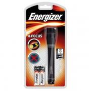Torcia X Focus Energizer 634500 - 184742 lxpxh 15,8x2,9x2,9 cm - Distanza 38 m - Carica torcia - Durata 53 h - Pile incluse - Confezione 1 - 634500