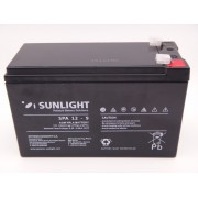 Sunlight 12V - 9Ah baterie AGM VRLA SPA 12 - 9