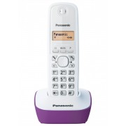 Bežični telefon Panasonic KX-TG1611FXF, ljubičasto-bela