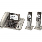 Teléfono Alámbrico/inalámbrico Panasonic 1.9 GHz KX-TGF352N