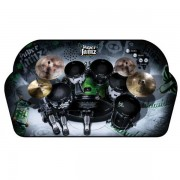 Drum set boxed with try me - Stil TIGER -6356