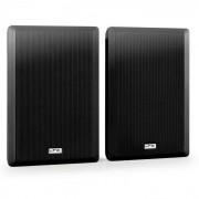 SSP501F-B paar extra platte 2-weg wandluisprekers 30W RMS zwart