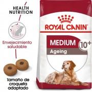 15kg Medium Ageing 10+ Royal Canin pienso para perros