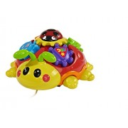 Simba Abc Pull Along Beetle With Melody, Multi Color