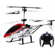 V-Max HX-708 Radio Remote Controlled Helicopter with Unbreakable Blades - Multi Color