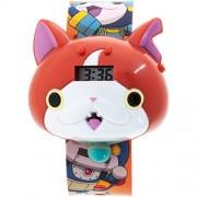 Yokai Jibanyan Molded LCD Watch with Sound for Children by Yo-Kai Watc by LEVEL-5/YWP