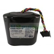 Bateria 1756-BATA 1756-BATM LS33600-2AB 17000mAh 3.6V z wtyczką