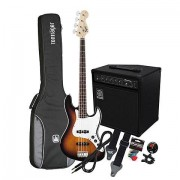 Squier Affinity J-Bass BSB / Ampeg BA-108 Set de bajo eléctrico