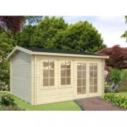 Caseta de madera Iris 2 de 410 x 320 cm. para Jardín